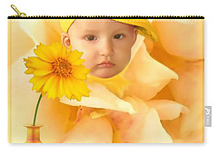 An Image Of A Photograph Of Your Child. - 09 Carry-all Pouch