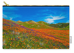 An Ocean Of Orange  Carry-all Pouch by Lynn Bauer