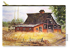 An Old Red Barn Carry-all Pouch