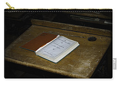 Carry-all Pouch featuring the photograph An Open Book by Judy Hall-Folde