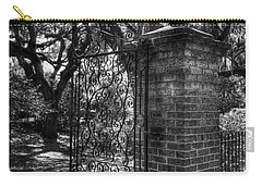 An Open Gate 2 Bw Carry-all Pouch