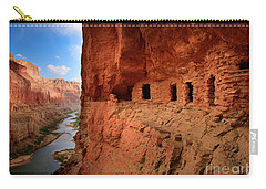 Anasazi Granaries Carry-all Pouch by Inge Johnsson