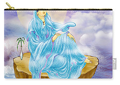 Carry-all Pouch featuring the photograph Anavatapta Kuan Yin by Lanjee Chee