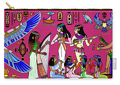 Ancient Egypt Splendor Carry-all Pouch