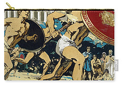 Ancient Olympic Games  The Relay Race Carry-all Pouch by Unknown