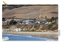Ancient Sea Stack At Pismo Beach Carry-all Pouch