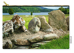 Ancient Stone Wall At Loch Achray Carry-all Pouch