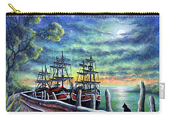 And We Shall Sail My Love And I Carry-all Pouch by Retta Stephenson