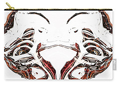 Carry-all Pouch featuring the digital art Androidinous by Richard Thomas