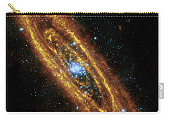 Andromeda Galaxy Carry-all Pouch by Adam Romanowicz