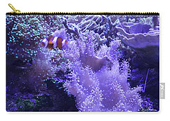 Anemone Starlight Carry-all Pouch by Susan Molnar