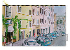 Anfiteatro Hotel Rome Italy Carry-all Pouch by Frank Hunter