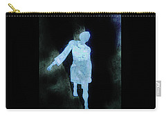Oh That I Were An Angel  Carry-all Pouch by Larry Campbell