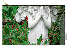 Carry-all Pouch featuring the photograph Angel by Aimee L Maher Photography and Art Visit ALMGallerydotcom