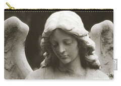 Angel Art - Ethereal Dreamy Angel Guardian Angel - Face Of An Angel Carry-all Pouch