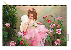 Angel And Baby  Carry-all Pouch by Catherine Lott