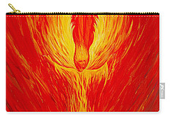 Angel Fire Carry-all Pouch by Nancy Cupp