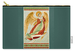 Angel In Green Slippers Carry-all Pouch