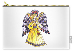 Angel In Horns Section Carry-all Pouch