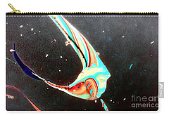 Carry-all Pouch featuring the painting Angel by Jacqueline McReynolds