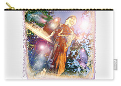 Carry-all Pouch featuring the photograph Angel Light by Marie Hicks