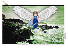 Angel Carry-all Pouch by Marvin Blaine