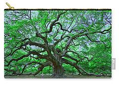 Angel Oak Carry-all Pouch by Allen Beatty