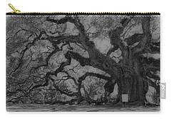 Angel Oak B And W Carry-all Pouch