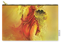 Angel Of Abundance - Fortuna Carry-all Pouch