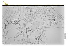 Angel Of God Struggle Carry-all Pouch by Roberta Byram