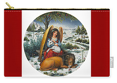 Angel Of Peace Carry-all Pouch