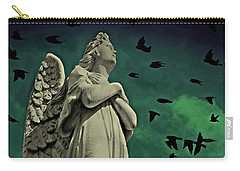 Angel Of Stone Carry-all Pouch
