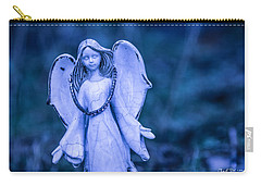 Angel Of The Rain Carry-all Pouch by Charlie Duncan