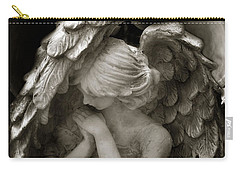 Angel Photography - Dreamy Spiritual Angel Art - Guardian Angel Art In Prayer  Carry-all Pouch