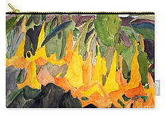 Angel Trumpets Carry-all Pouch