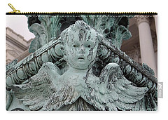 Carry-all Pouch featuring the photograph Angel Wings by Ed Weidman