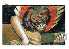Angel With Lute Carry-all Pouch