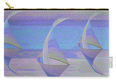 Angelfish3 Carry-all Pouch by Stephanie Grant