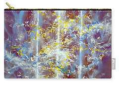 Angels At The Throne Of God Carry-all Pouch