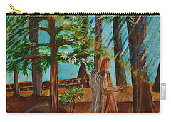 Angle In Idyllwild Carry-all Pouch by Cassie Sears