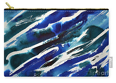 Angle Waves Carry-all Pouch by Joan Hartenstein