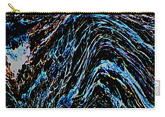 Carry-all Pouch featuring the photograph Angry Sea by Stephanie Grant