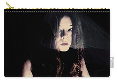 Carry-all Pouch featuring the photograph Angry With You  by Jessica Shelton