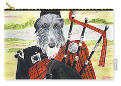 Angus The Piper Carry-all Pouch by Stephanie Grant