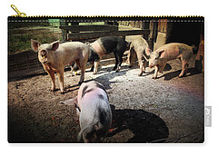 Angustown Piggies Carry-all Pouch