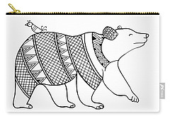 Animal Bear Carry-all Pouch by Neeti Goswami