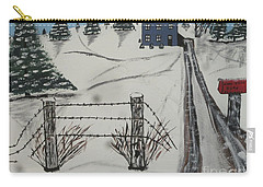 Carry-all Pouch featuring the painting Anna Koss Farm by Jeffrey Koss