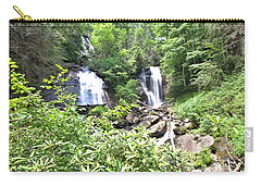 Anna Ruby Falls - Georgia - 1 Carry-all Pouch by Gordon Elwell