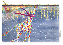 Annabelle On Ice Carry-all Pouch by Rhonda Leonard