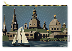 Annapolis Steeples And Cupolas Serenity Carry-all Pouch